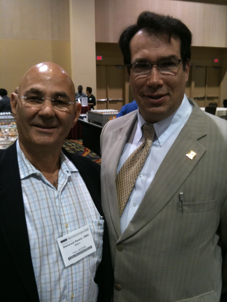 Dr. Wu Dhi  & Dr. Ron Klatz at the A4m Anti aging conference